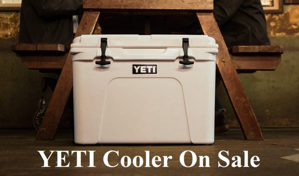 yeti cooler on sale